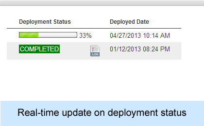 Automatic & Real-time deployment update